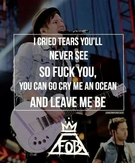 Save Rock and Roll | Fall out boy lyrics, Band quotes ...