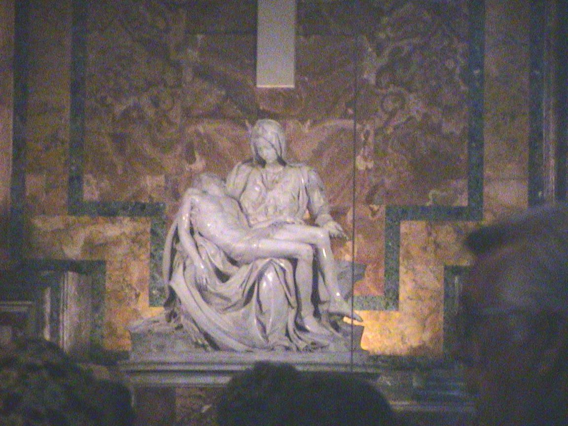 "Michaelangelo's ""Pieta""... St. Peter's Basilica, Rome Italy"