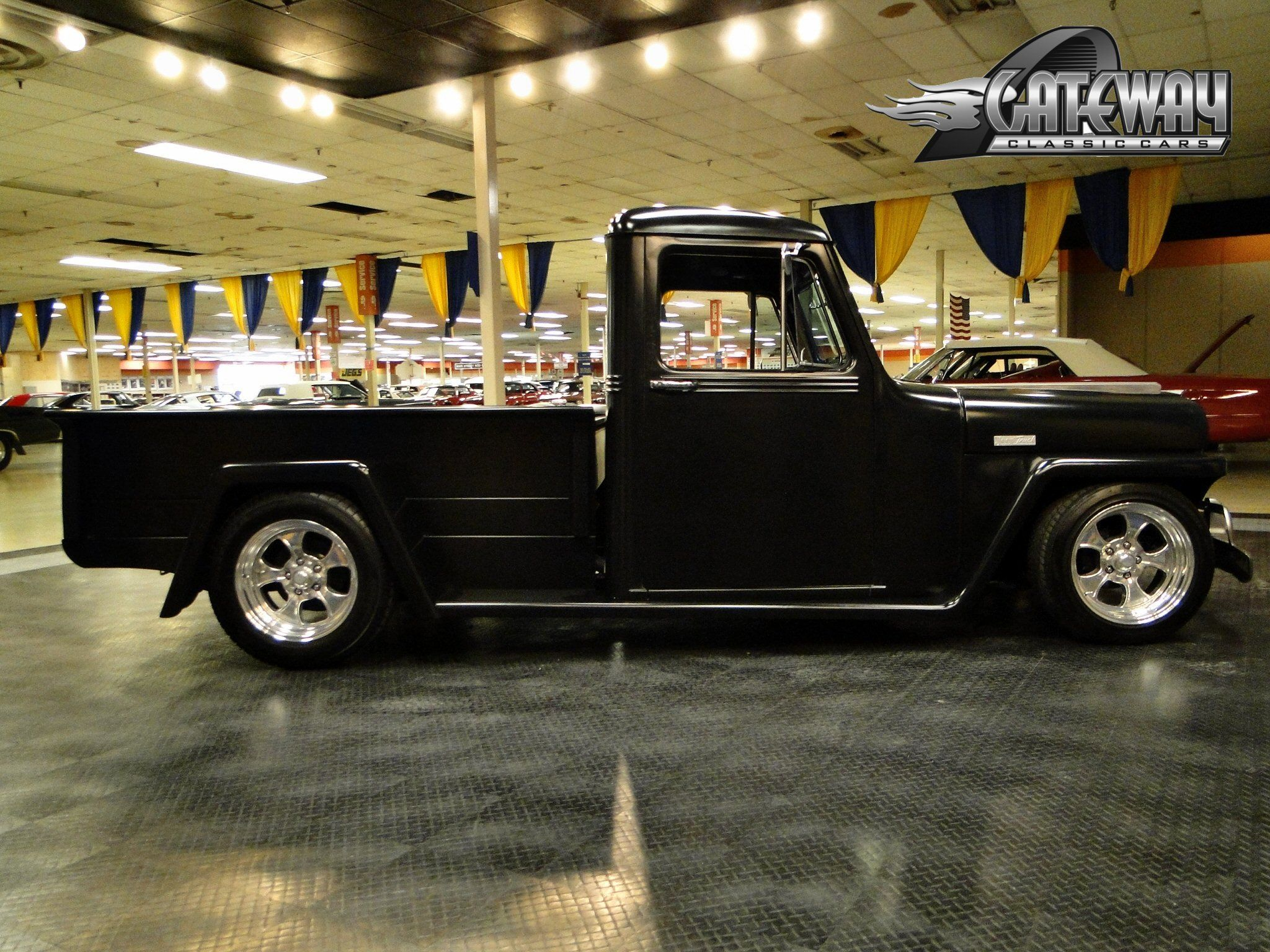 1948 Willys Jeep Truck hot rod rods retro pickup wallpaper ...