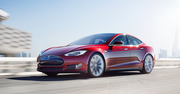 Uber Users In Dubai Can Now Choose To Ride In A Tesla Ridesharing Is Now More Eco Friendly In The Uae Https Futurism Com Tesla Model S Tesla Car Tesla