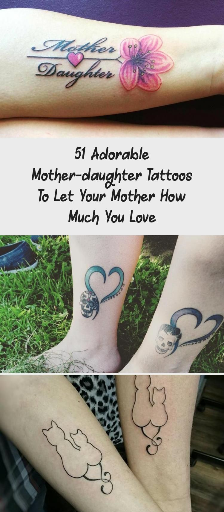 51 Adorable Mother-daughter Tattoos To Let Your Mother How Much You Love – Tattoo