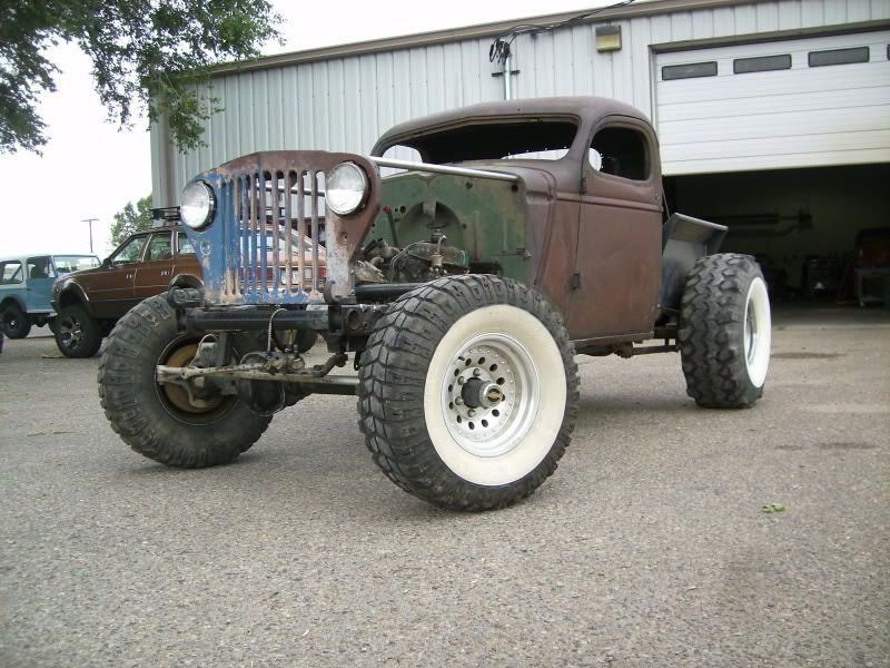 Beautiful rat rod Willys build. If you could build / restore any 4x4 what would it be?
