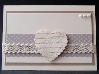 Janas Bastelwelt: Meine zweite Hochzeitskarte