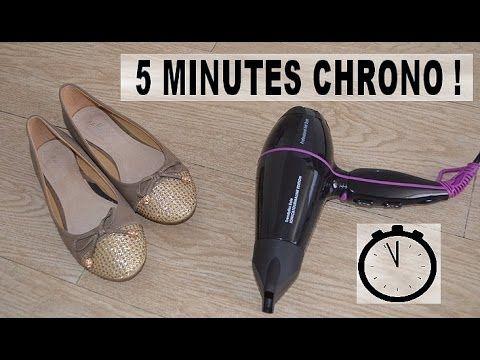 en vid o comment largir des chaussures en moins de 5. Black Bedroom Furniture Sets. Home Design Ideas