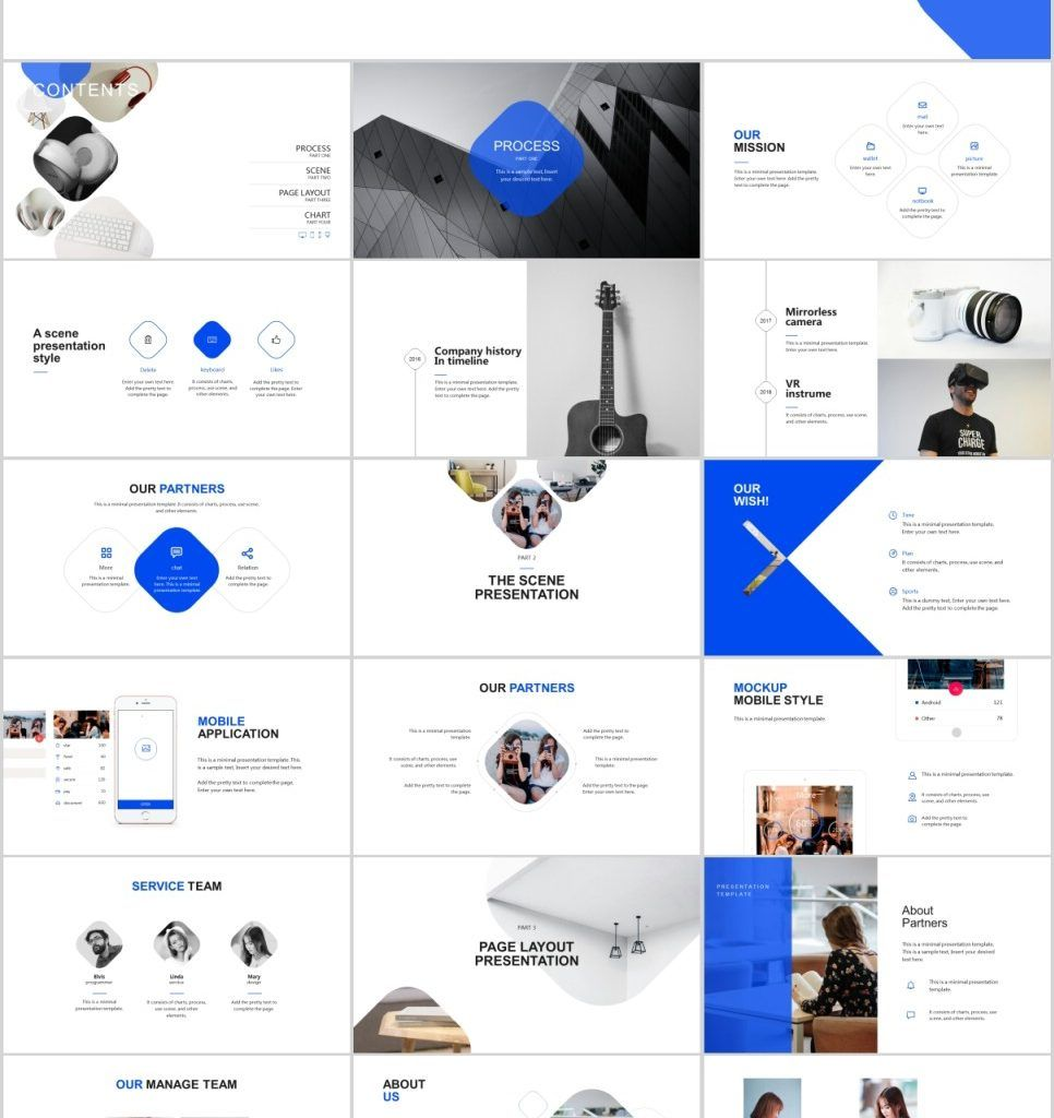 Company Pro Powerpoint Template 77905 Powerpoint Design