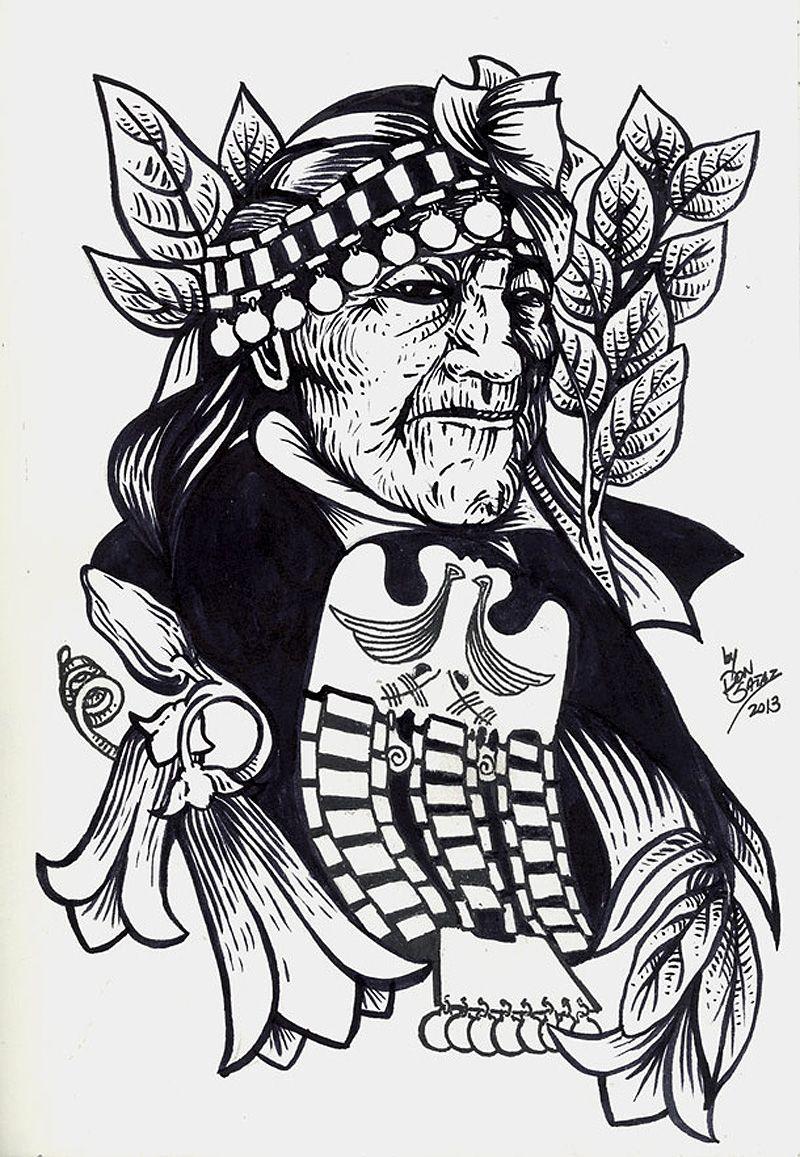 Mapuche Serie Pueblos Originarios Protest Art Art Latin American Art