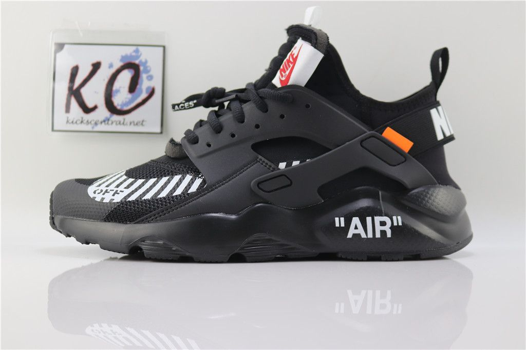 1536f2b8795b OFF WHITE x Nike Air Huarache Black AA3841-001
