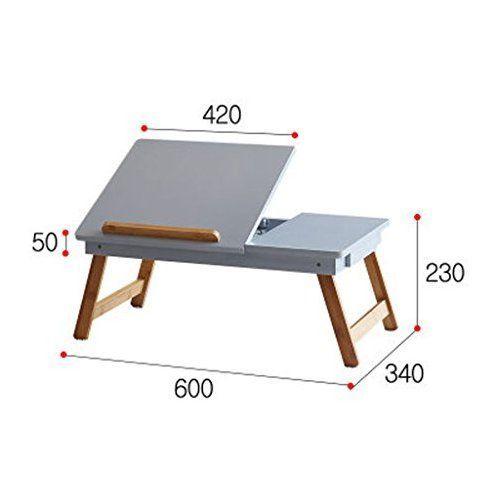 ba158c6dd HYLR Escritorio para laptop Mesa plegable para dormitorio Escritorio para  estudio plegable Con cajón