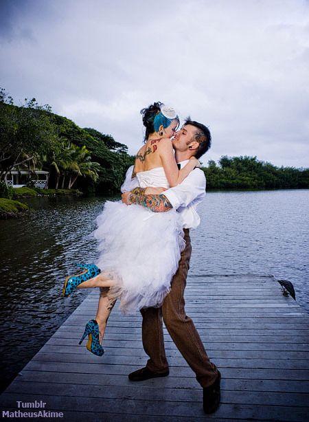Amazing Shoes Punk Wedding Carnival Wedding Wedding