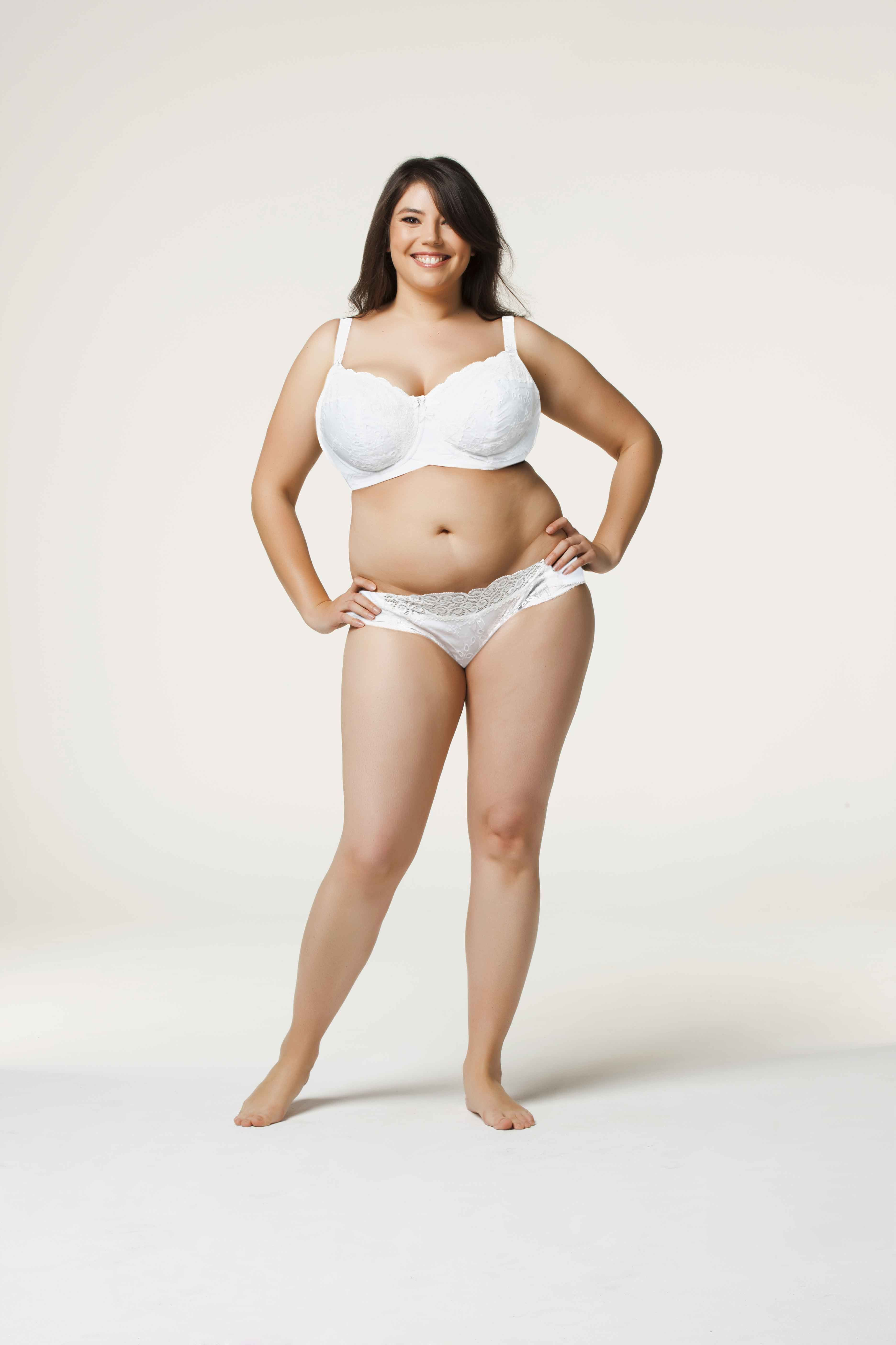 61e333eb92636 Cake Lingerie White Chocolate flexible wired maternity nursing bra is  available in sizes 32C-40K (US)