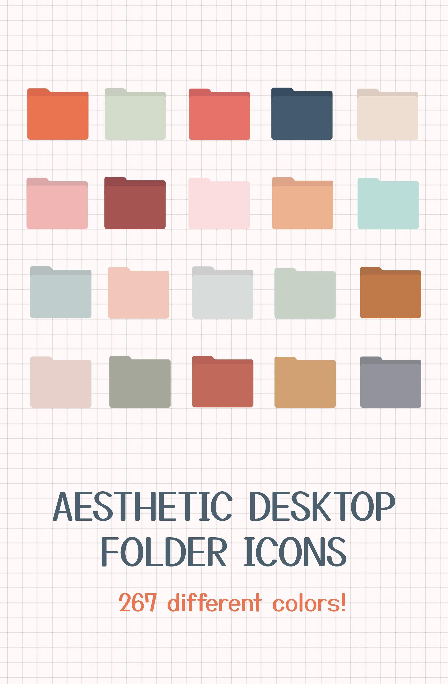 Boho Desktop Folder Icons For Mac Desktop Folder Icons Aesthetic Desktop Folder Icons Aesthetic Macos Desktop Instant Download Artofit