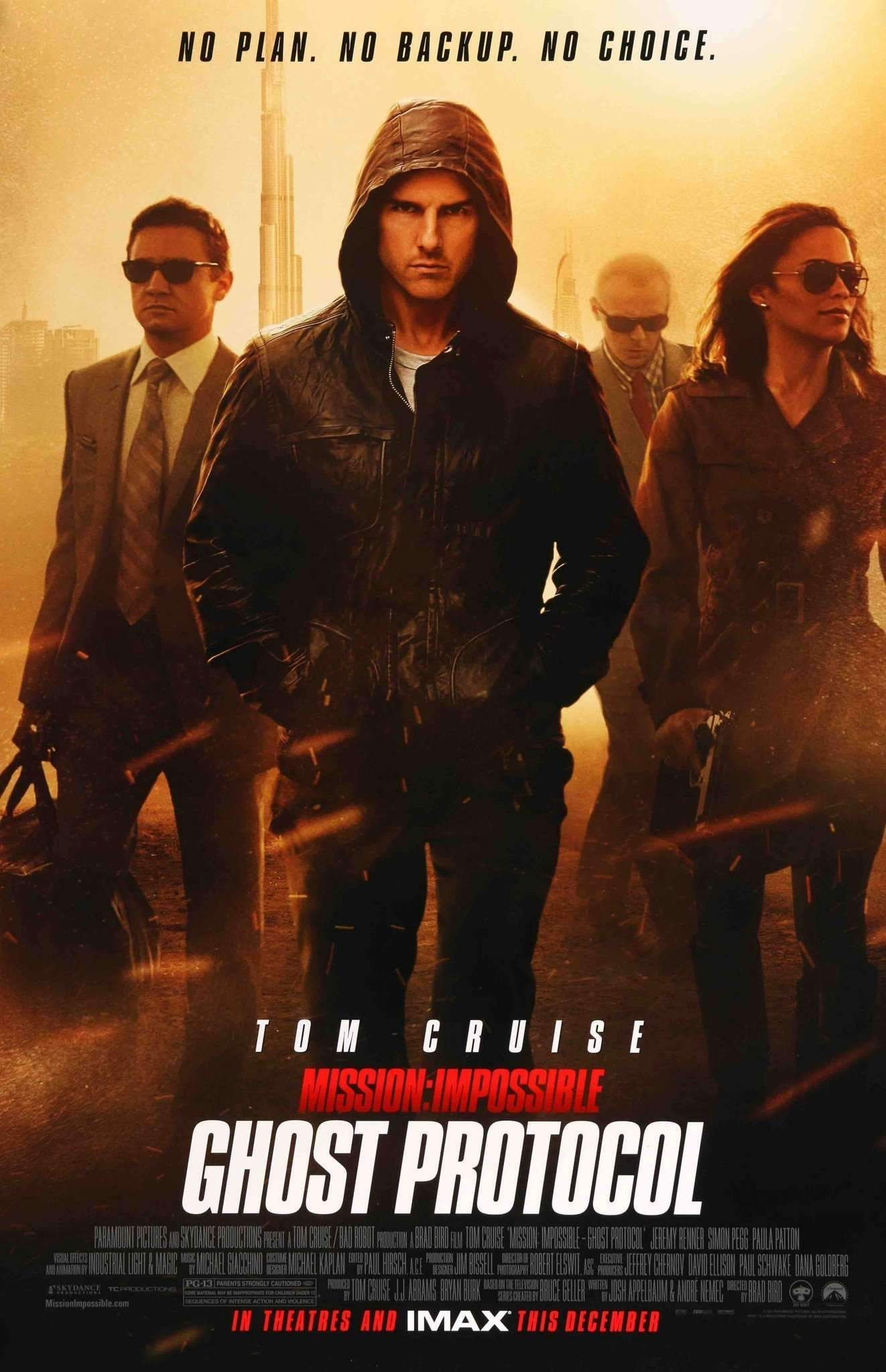 Mission Impossible Ghost Protocol (2011) Ghost protocol