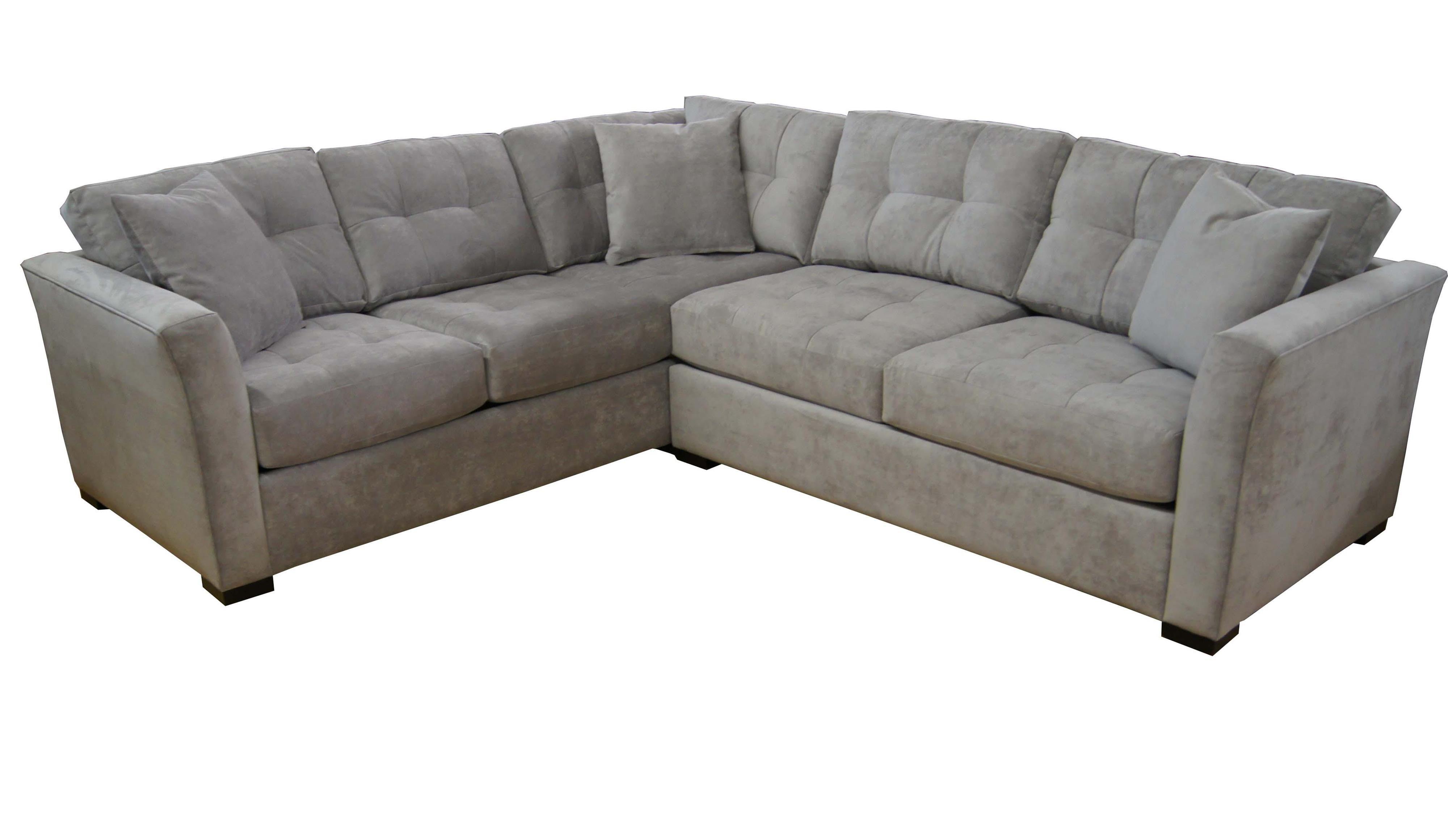 Narrow Depth Sectional Sofa