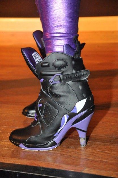 Faux Air Jordan Heels