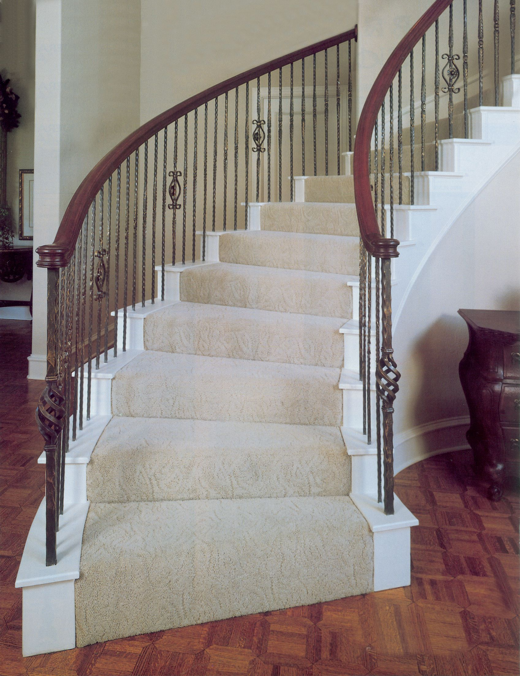 Best Another Example Of Our Powder Coated Balusters And Newels Available In A Variety Of Styles 400 x 300