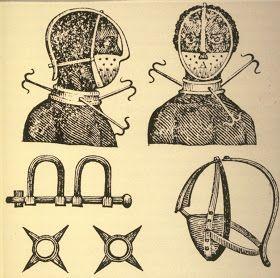 US Slave: Slave Tortures: The Mask, Scold's Bridle, or Brank