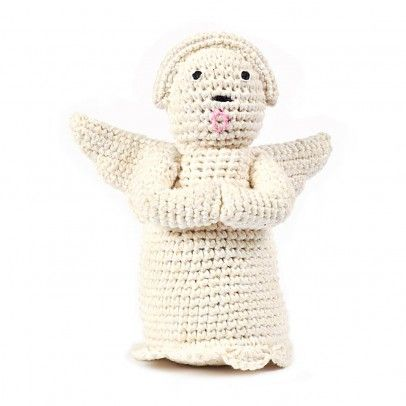 Anne-Claire Petit Angel `One size Color : White * Details : Cotton crochet, Handmade, Items can vary slightly, due to the artisanal, handmade nature of the product * Composition : 100% Organic cotton grown without pesticides * Height  http://www.MightGet.com/january-2017-13/anne-claire-petit-angel-one-size.asp