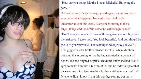 from Trey cristals transgender stories site