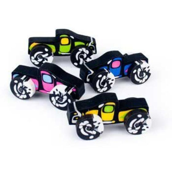 Monster Truck Erasers (12-pack) In 2020