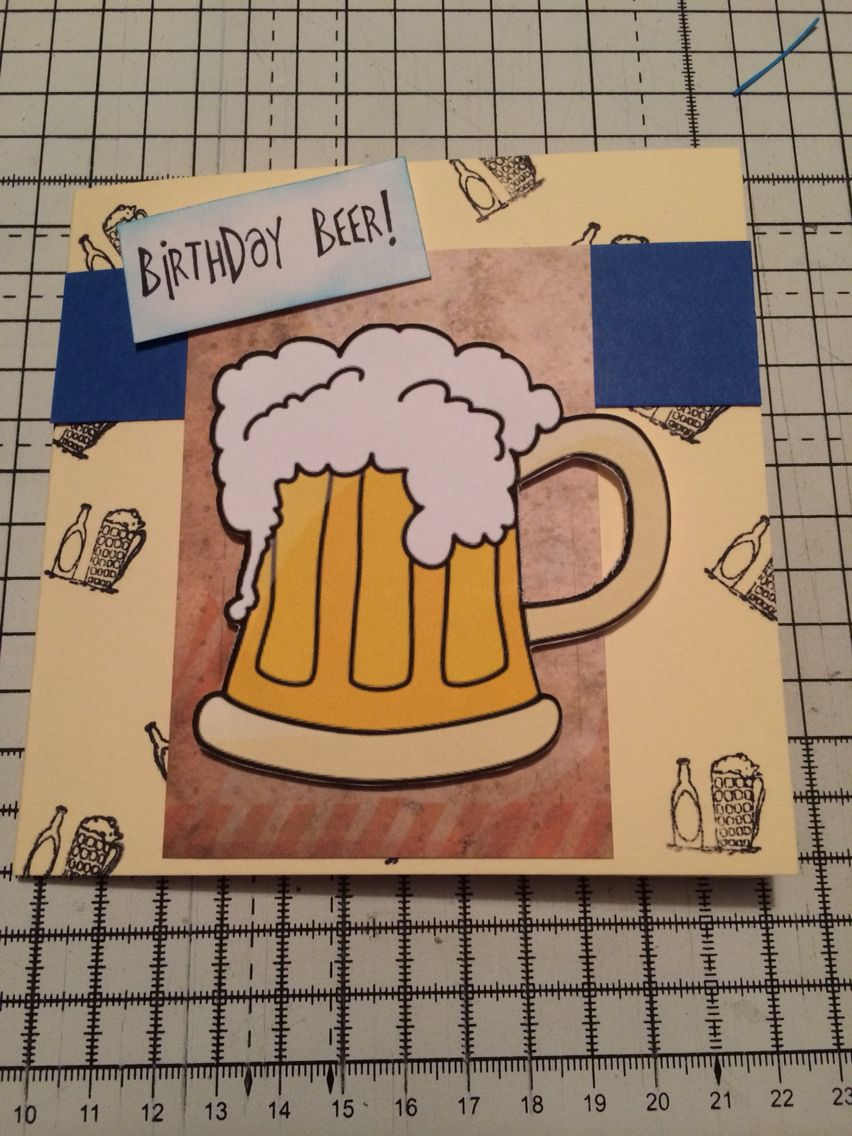 Birthday Beer  Naomi Whale-buy cards-buy baby cake