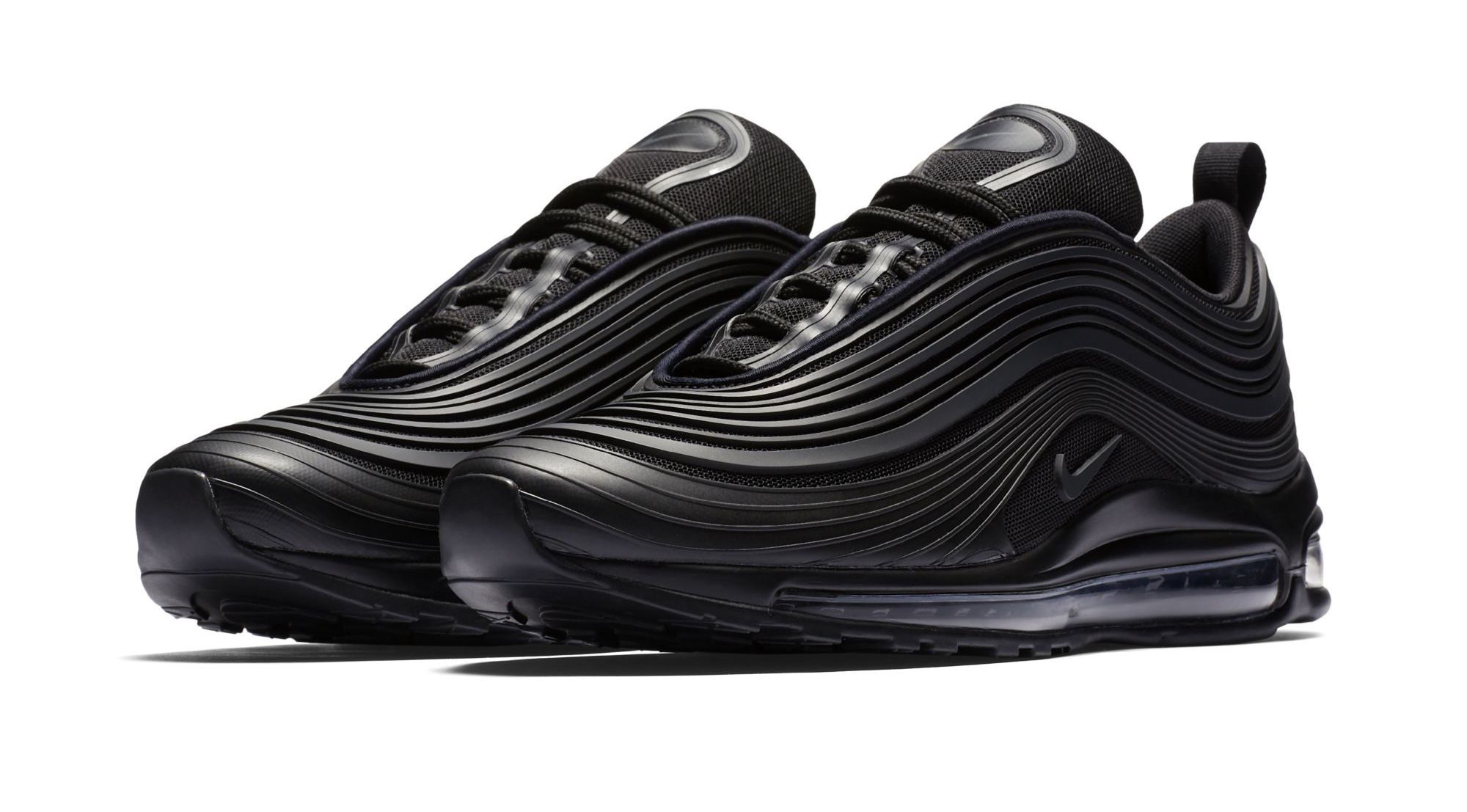 e1869e27d1 Nike Air Max 97 Ultra 17 Premium Triple Black Coming Soon | Shoe ...