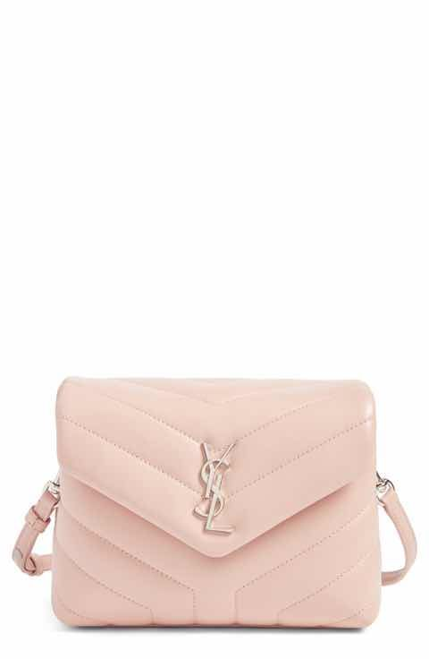 508dee4b7bc Saint Laurent Toy LouLou Calfskin Leather Crossbody Bag | Handbags ...