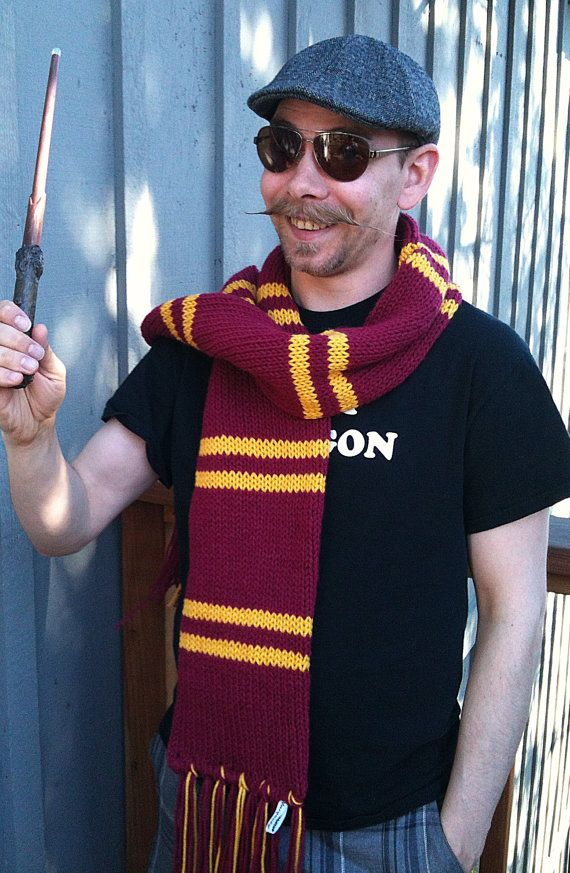 Wizarding School Gryffindor Inspired Scarf - The Later Years ...