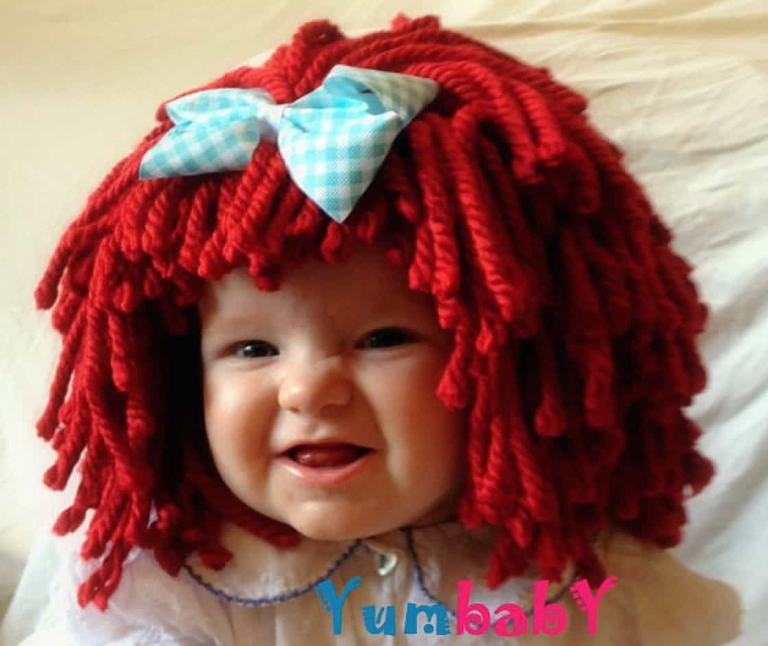 Crochet Cabbage Patch Hats Pattern | Raggedy ann, Cabbage patch hat ...