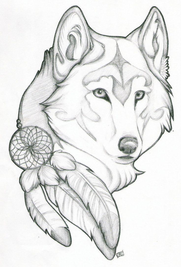 Wolf Tattoo Drawings Wolf Sketch Wolf Tattoo Design