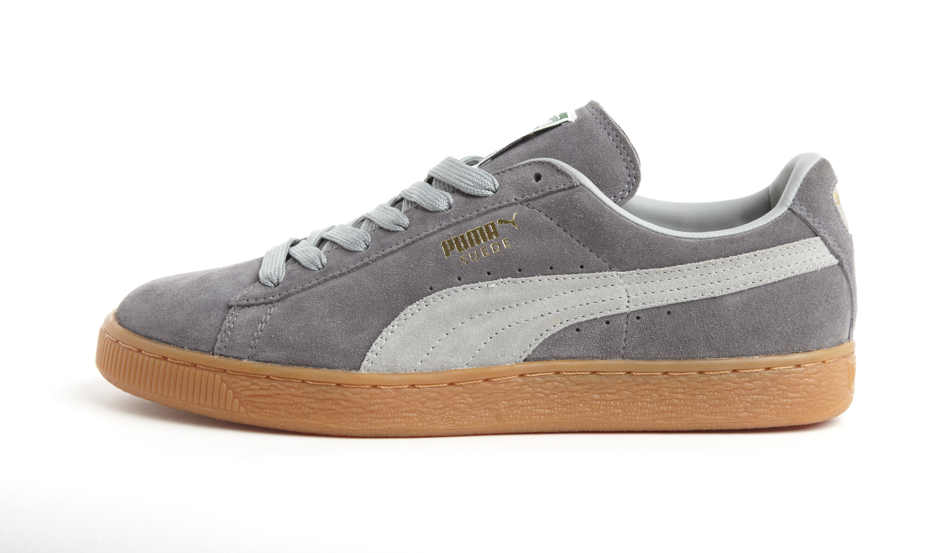 Grey Shoes Gum Footwear Puma Suede Suede 06gaZx5
