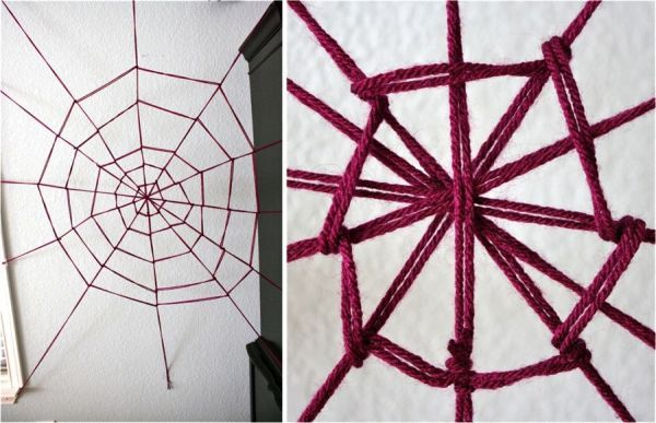 Halloween And Beyond How To Decorate With Spider Webs Spider - spider web decoration for halloween