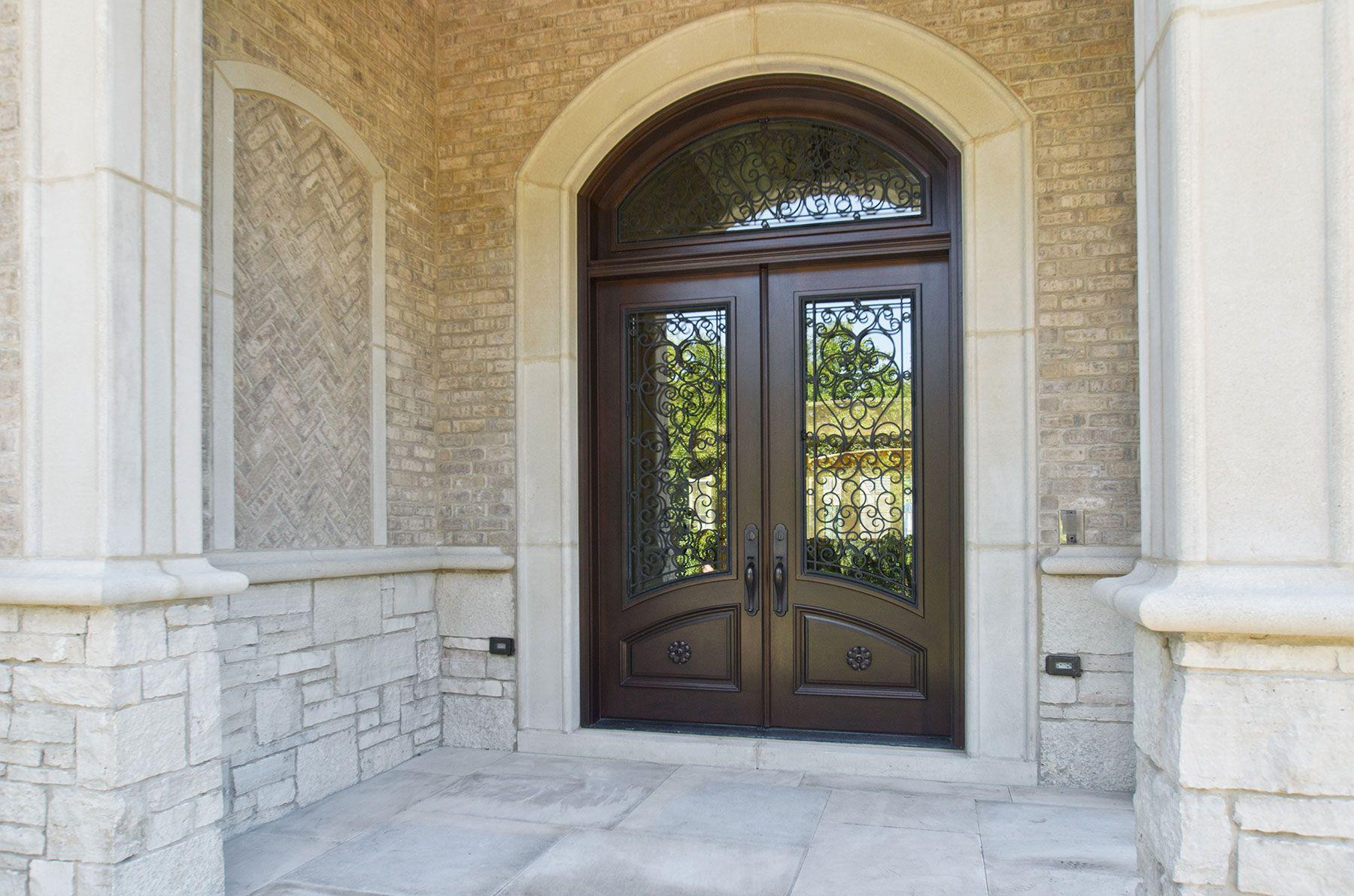 Custom Wood Front Entry Doors