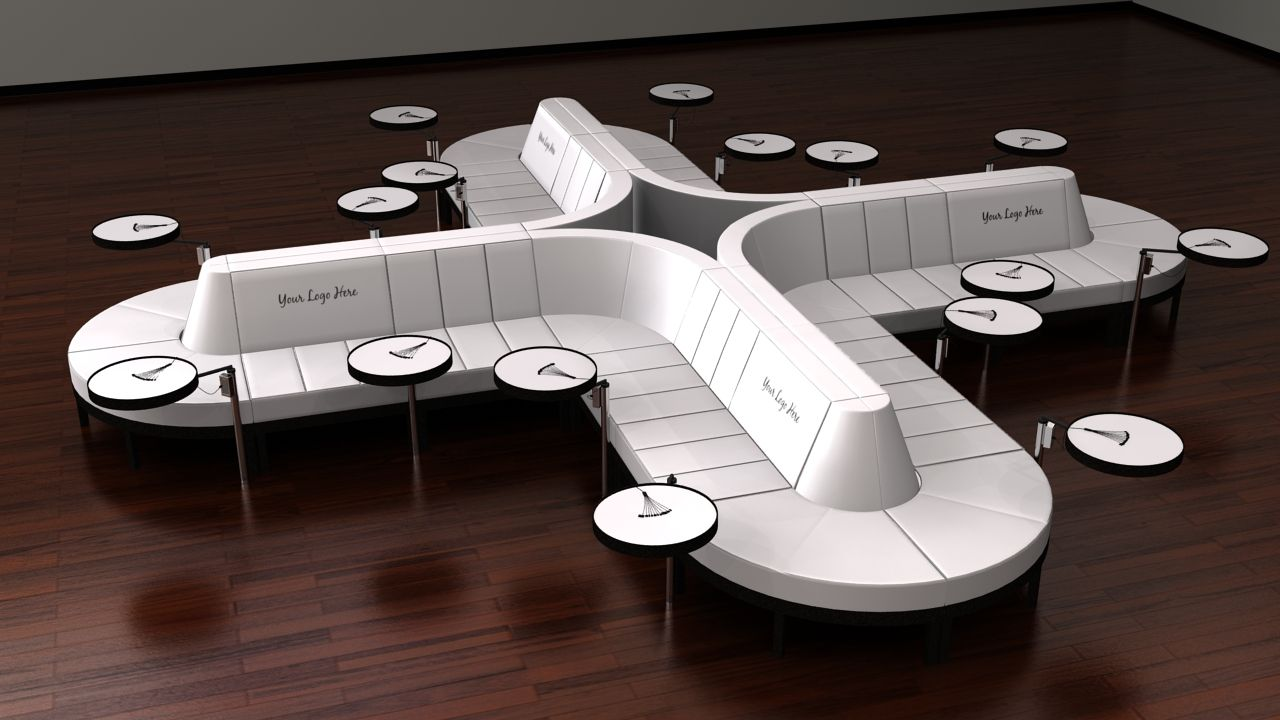 Exceptionnel Clover Charging Station » Soft Seating » TOTALLY MOD Event Furnishings  Phone Charging Stations, Soft
