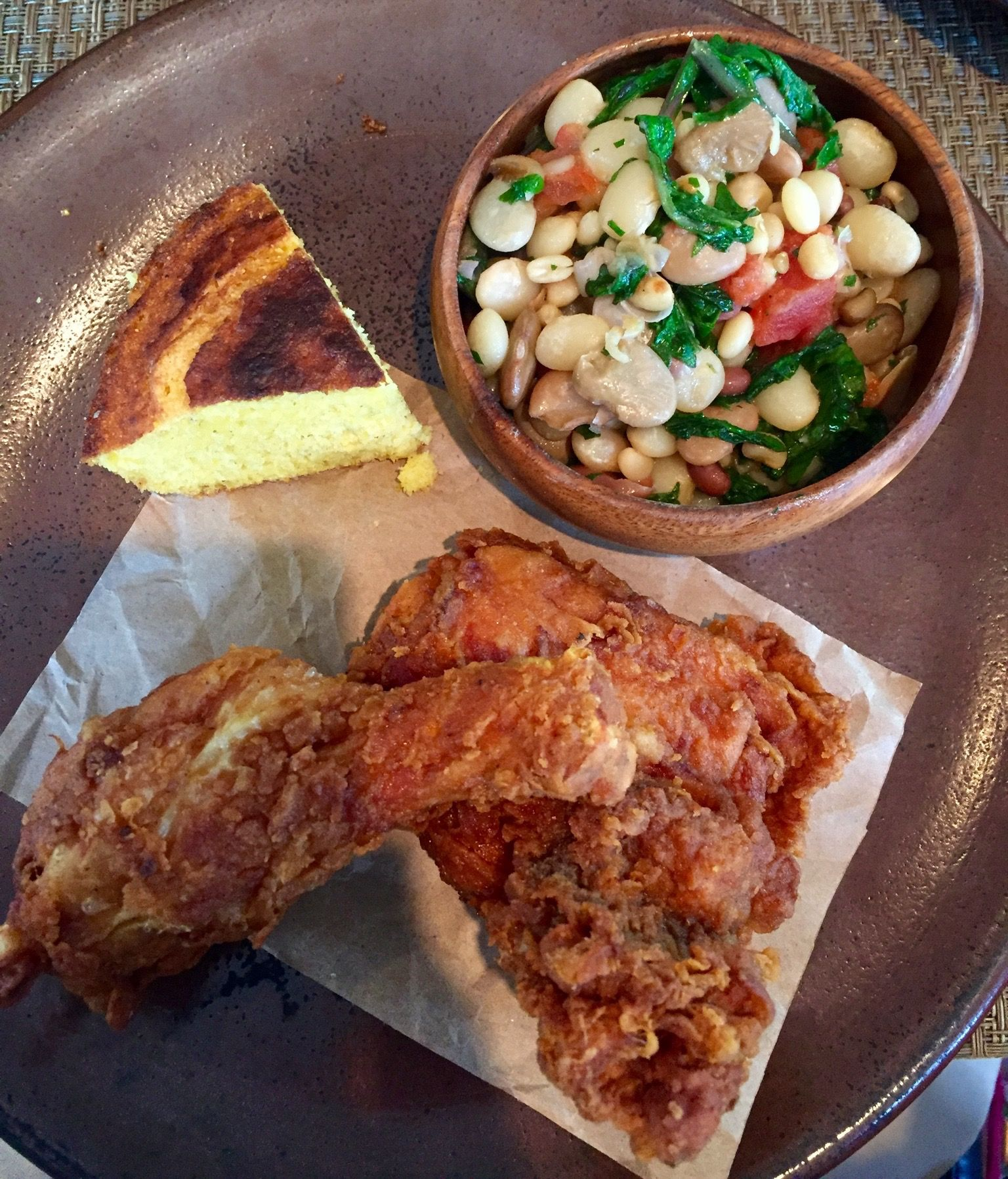 Southern Charm Flirting With Flavors Cooking Fried Chicken Food