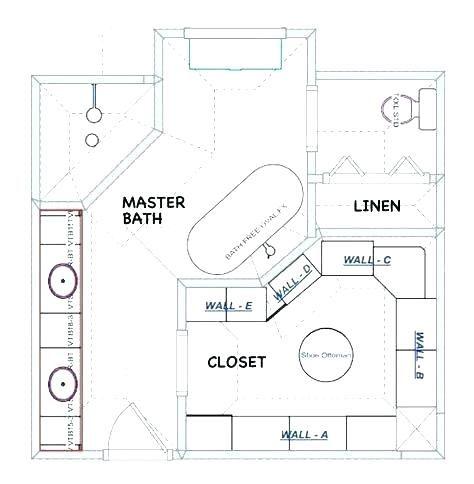 Image result for 10x10' master bath with closet | Bathroom ...
