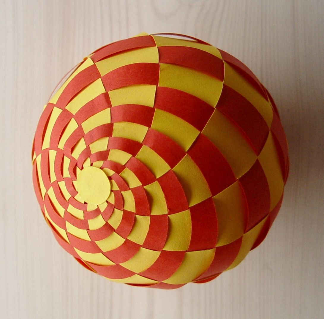 Stave Churches and Sphere #010 | Origami/3D folded crafts ... - photo#15
