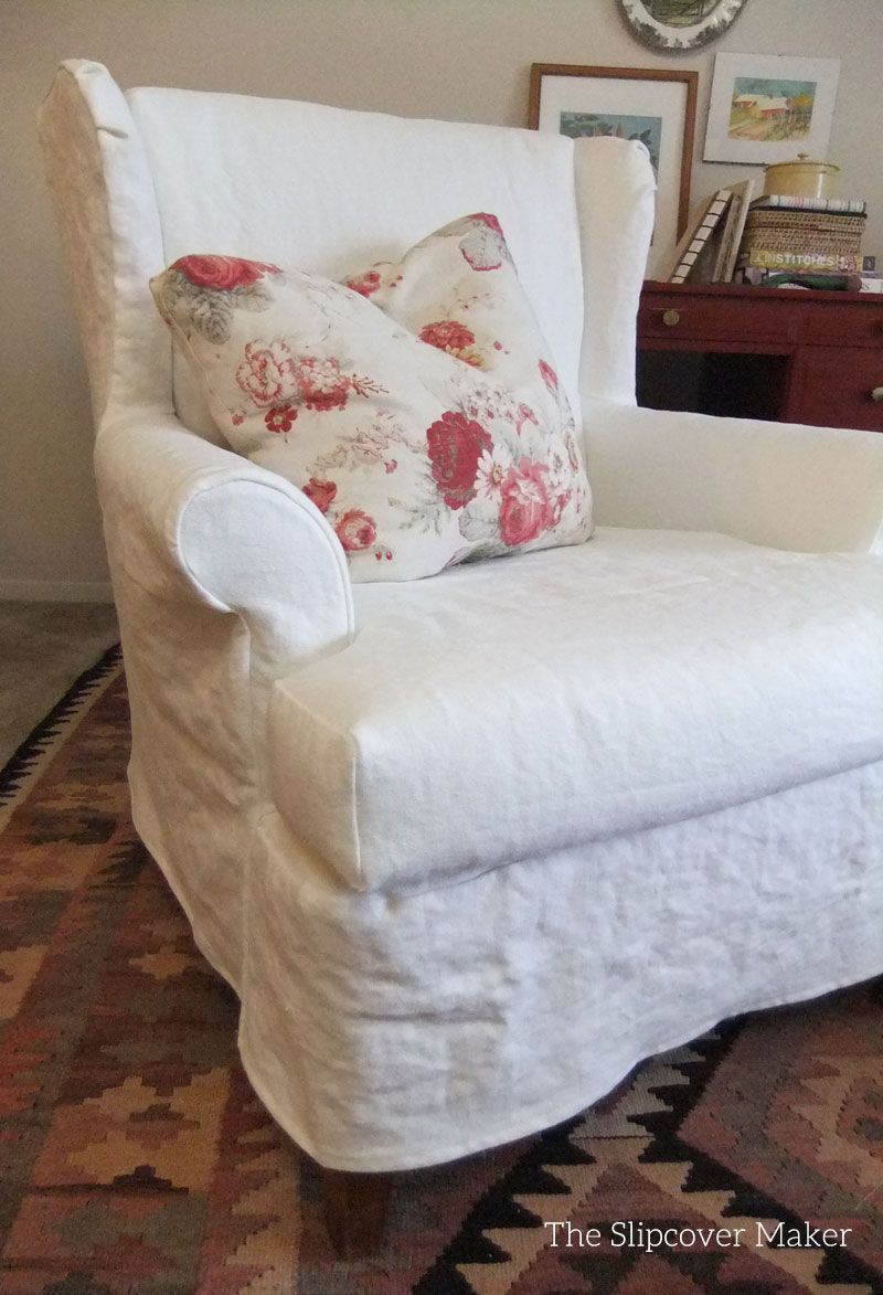 knots but if cozy fit wanted s back he get this go to very customer chair linen way slipcovers able look be a original slipcover the i cottage not could on tight husband french