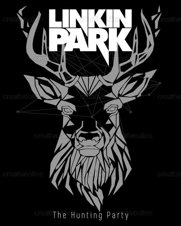 linkin park poster by claire trottier