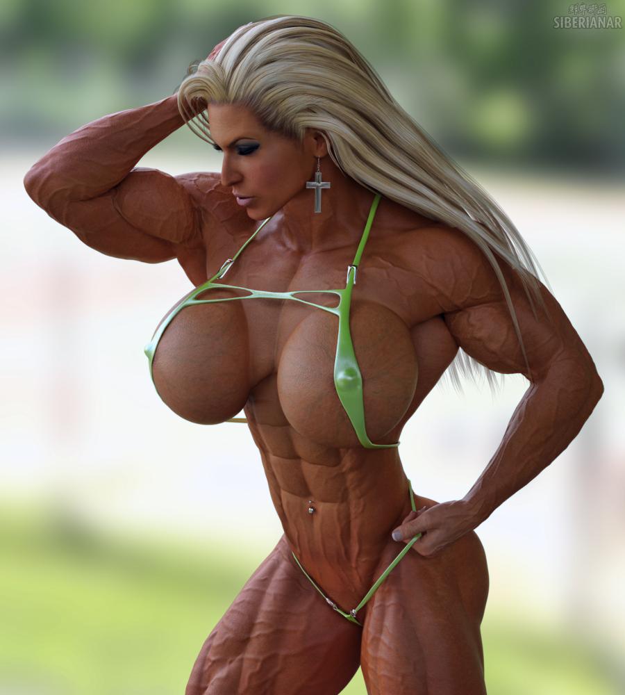 Muscle girl jodie marsh turns into beefcake