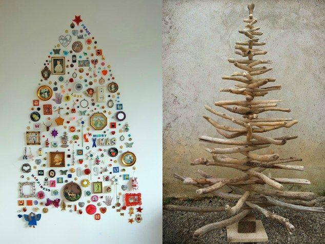 Alberi di natale fai da te christmas pinterest alternativo forza e alberi di natale - Decorazioni per finestre di natale fai da te ...