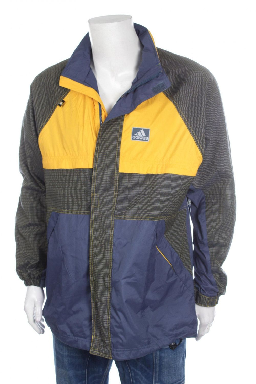 Vintage 90s Adidas Trefoil Jacket Multicolor Hip Hop Rap