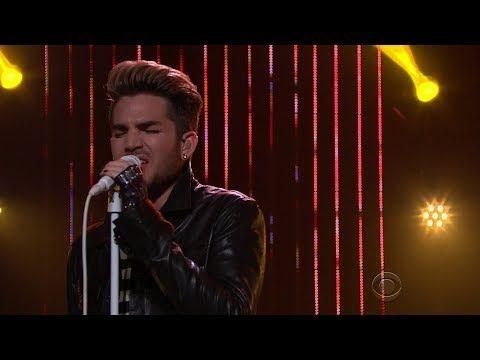 Adam Lambert: Ghost Town #LateLateShow with James Corden 2015 1080HD - YouTube