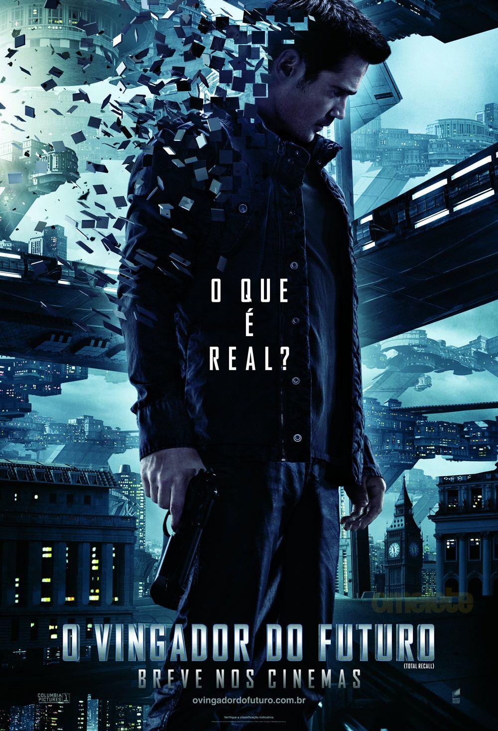Total Recall Filme Os Vingadores 2012 Filme O Vingador Do Futuro