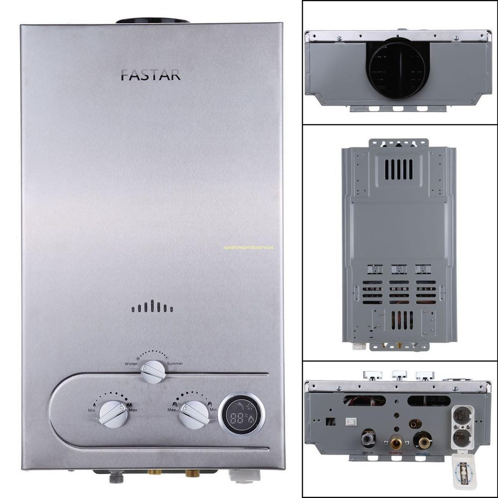 12l Gas Lpg Hot Water Heater Propane Tankless Instant