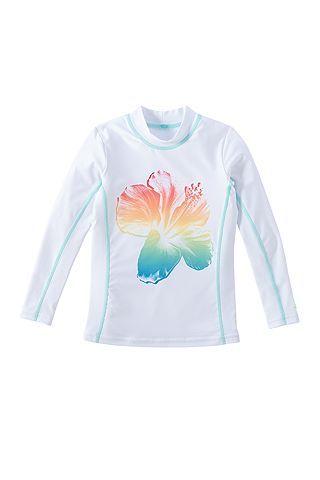 Kids/' Long Sleeve Surf Shirt Coolibar UPF 50