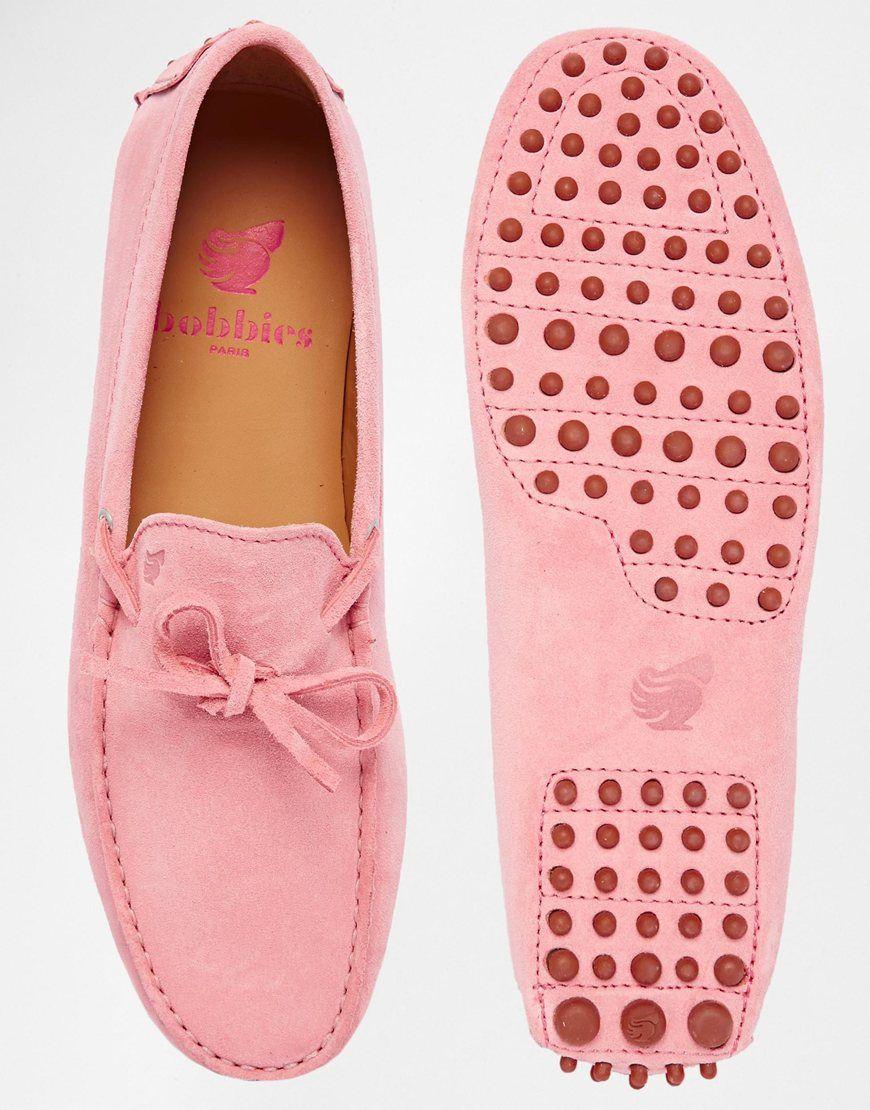 Image 3 of Bobbies Magnifique Suede Driving Shoes
