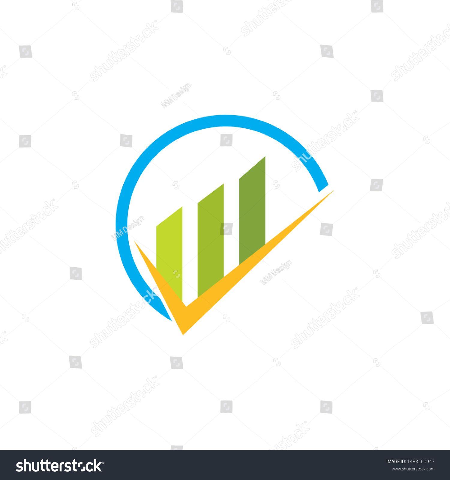 Business Finance Professional Logo Template Vector Sponsored Affiliate Professional Finance Business Vector In 2020 Stock Market Flyer Design Logo Templates