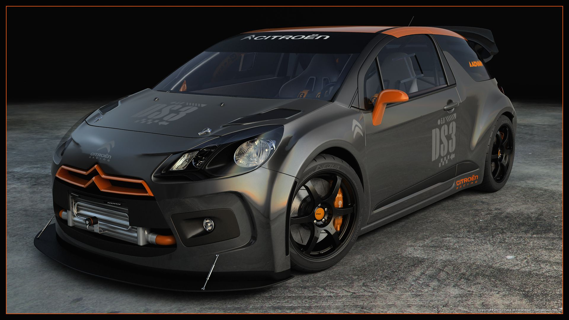 Citroen ds3 racing custom by dangerussiantart on citroen ds3 racing custom by dangerussiantart on deviantart vanachro Image collections