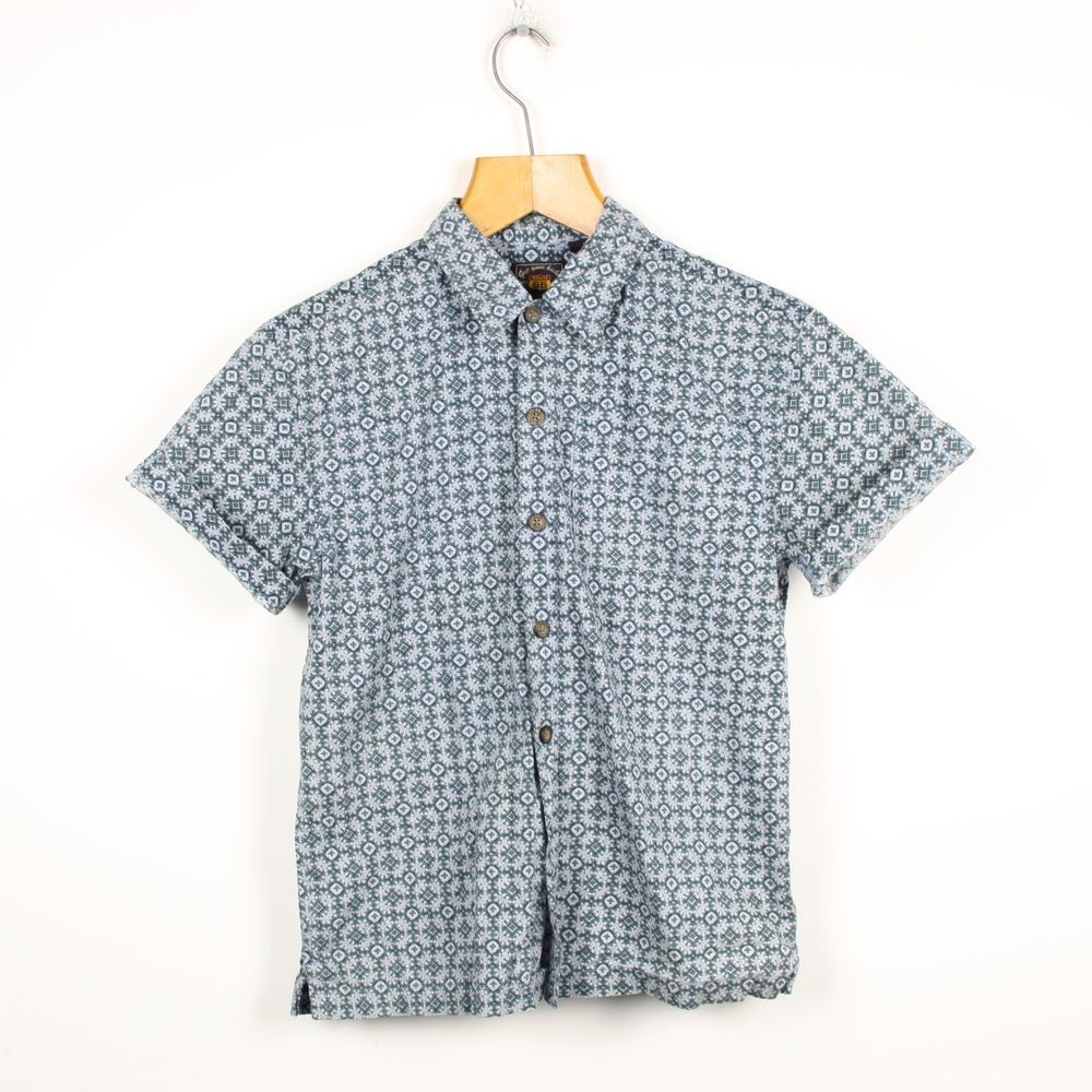 32792b90bcc Vintage 90s Women's ABSTRACT Short Sleeve Shirt | Retro Festival ...