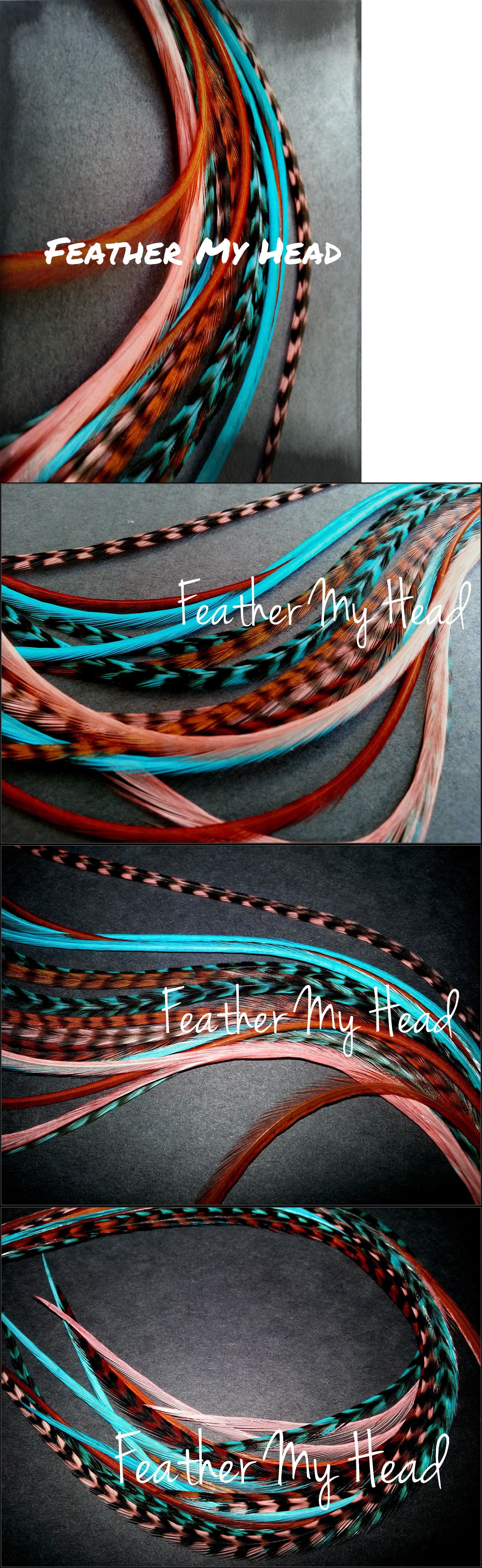 Hair accessories 50981 feather hair extension kit do it yourself hair accessories 50981 feather hair extension kit do it yourself diy with beads pulling solutioingenieria Image collections